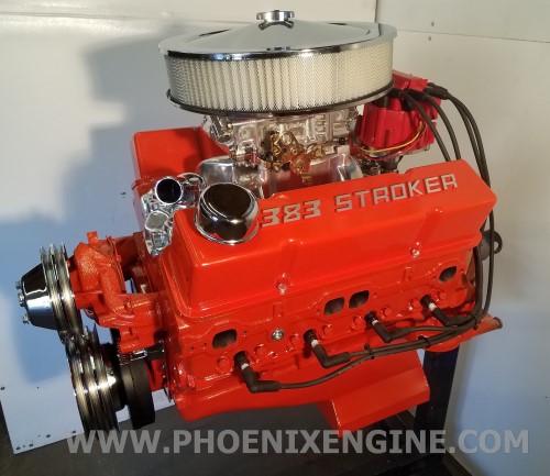 Chevy 350 - 406HP to 502HP Turnkey Engine - Rednight Aluminum