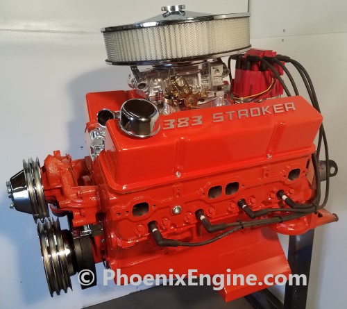 383 stroker with air filter