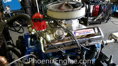 Turnkey Crate Engines - Ford 390 370HP Midnight Turnkey