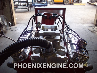 Chevy 350 350HP to 400+HP Crate Engine with Computer TBI