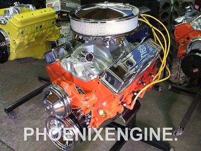 Chevy 350 - 355 HP turnkey crate engine