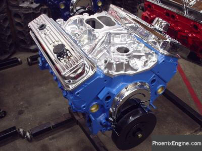 Chevy 350 - 350HP Midnight Blue Crate Engines