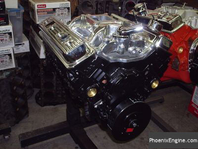 Chevy 350 crate engine