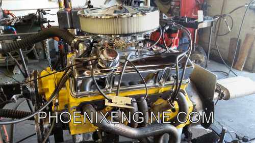 Chevy 350 Crate Engines - 355HP 365HP Yellow Night Series