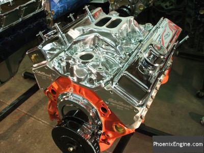 Crate Engines - Chevy 350 375 to 460HP Red Night | Orange Night