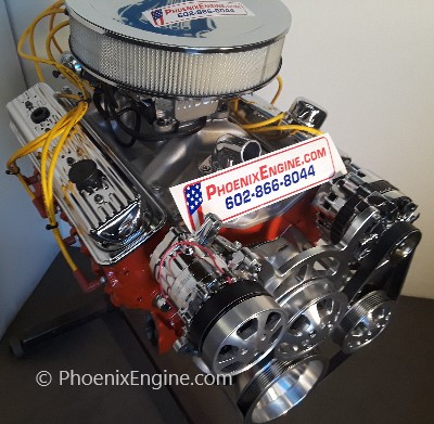 Crate Engines - Chevy 350 - 355HP Dyno Tested Turnkey Crate