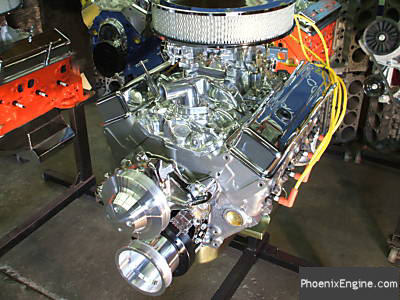 Chevy 350 - 330HP Silver Night Turnkey Crate Engine