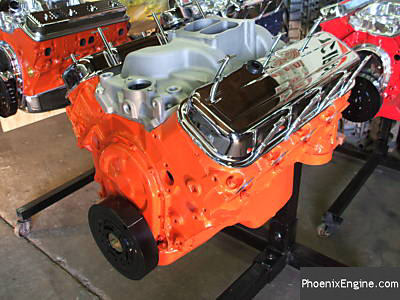 Chevy 454 crate engine