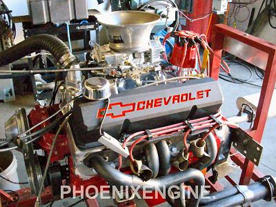 Chevy 350 406hp To 502hp Turnkey Engine Rednight Aluminum