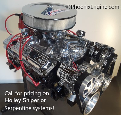 Chevy 350 ci 300 to 328HP Dyno Tested Turnkey Crate Engine