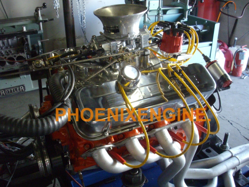 Chevy 454ci - 375 or 402 to 527HP Crate Engine Big Block