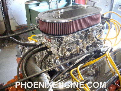 Chevy 350 375hp Dual Quads Crate Engine Turnkey Package