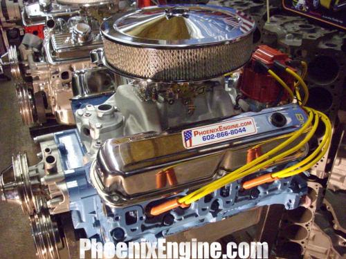 Dodge Chrysler Mopar 360ci 340hp turnkey crate engine