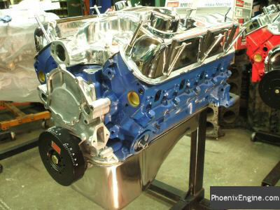 Crate Engines for Ford 302 and Ford 351W - Midnight Blue Crate