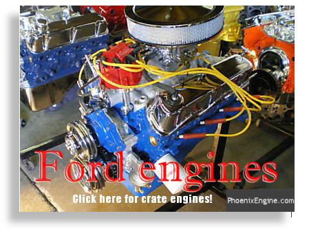 Ford Crate Engines - click to go to the Ford Section of the Crate Engines Catalog