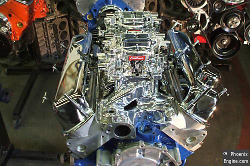 Crate Engines - Ford 302-380HP Dual Quads Aluminum Head