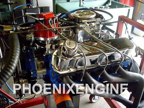 Ford on Ford 427 Fuel Injected Crate Engine