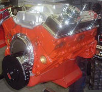 Power3 Orange  Night Crate Engine