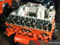 Click to see full details on this crate engine, a Chevy 350-415HP